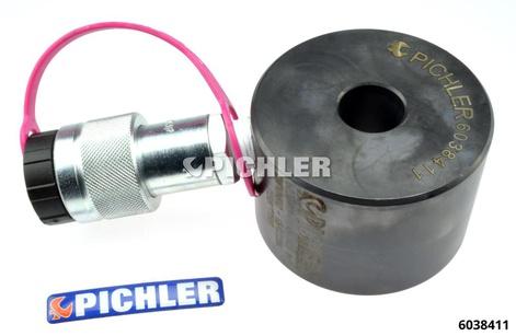 Hydraulischer Hohlkolbenzylinder 12 t Hub 8 mm