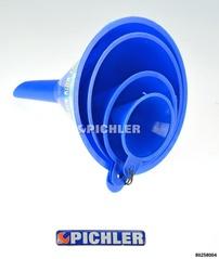 Trichterset Kunststoff 4-teilig mit Durchmessern 50-75-100-125 mm