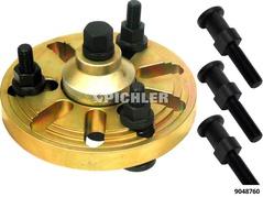 Riemenscheiben-Abzieher UNI Durchmesser 70mm bis 100mm 3 Haken 20mm u.3 Haken 26mm