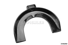 Spring bracket size IX (pair) left spiral Chrysler Voyager