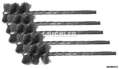 Innenbürste  Stahl ø 19mm VPE 5 Stück Spezial-Reinigungsbürste