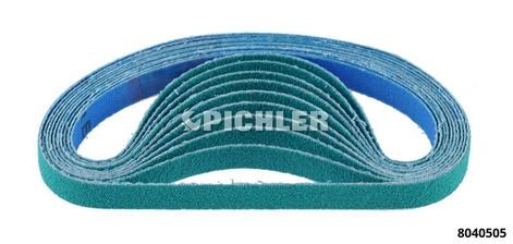 Ersatzbänder VPE 10 Stk. Korn 80 Bandbreite 10 mm Länge 330 mm