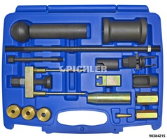 Injection nozzle removal set VAG P/D 16-piece extraction set.