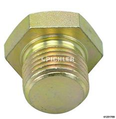 Bouchon vidange  M 17x1,5x16mm avec joint en cuivre