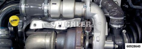 Adapter zur Öldruckprüfung PSA/DV6 1.6 HDi-Motore z.B zur Prüfung vor und nach einem Turboladerwechsel