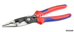 Universal Multifunctional Cutting  Stripping Pliers 200 mm 6 functions in one pair of pliers