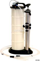 Handabsaug- und Druckpumpe mit Schlauch u. Sonden Behälter für 8,8 Liter