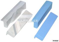 Schraubstock-Schutzbacken Set 4-tlg. Kunststoff/ Alu 120 mm Typen P+N, PUF+PUP