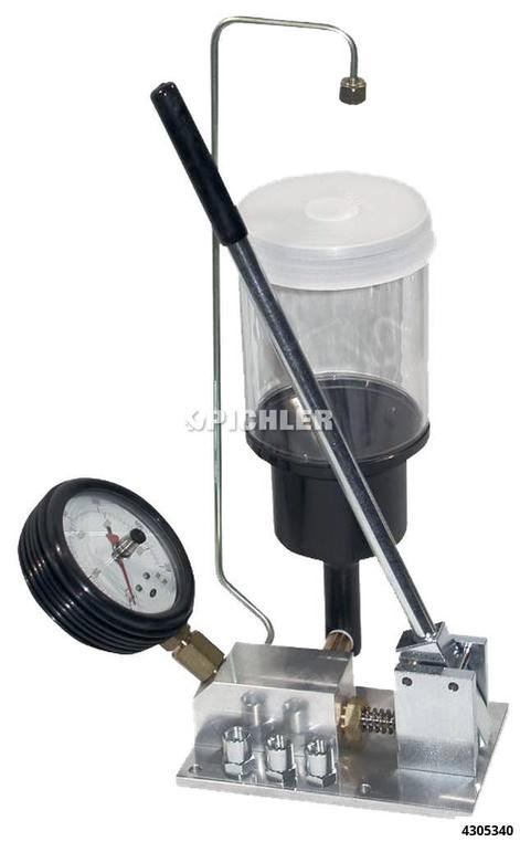 Dieseldüsen-Einspritztester DET 061 / 0 bis 400 Bar mit Schleppzeiger