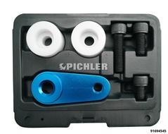 Wheel hub fixing tool Central screw counterholder