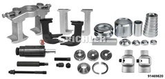 Wheel Bearing Removal and Installation Master Kit 22t for standard wheel bearings and wheel hub / bearing units