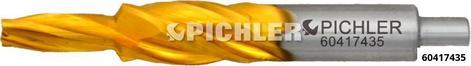 Spezialbohrer m. Aufsenkung drm. 4,3 auf 5,3 auf 9x34.3x64.3 Glühkerzenwerkzeug M10x1 z.B. OM651