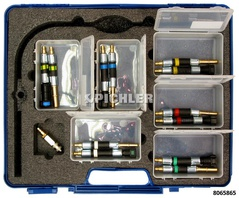 Complementary Quick Coupling Fuel Extractor Set 13 pcs.