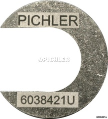 Einspritzdüsen Auszieher U-Form Auflagebleche Alu Stk. Nr.10 für CDI-Modelle
