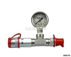 Manometer 0-800 Bar -  Ø 40mm für Hydraulikpumpen m. CEJN-Wallmekanschluss