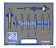 Glow Plug Drilling Out Kit Boxer for M10x1, Subaru Boxer 2.0l EJ20
