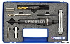 Universal Glow Plug Drilling Out Kit M12 without Accessories and Brushes