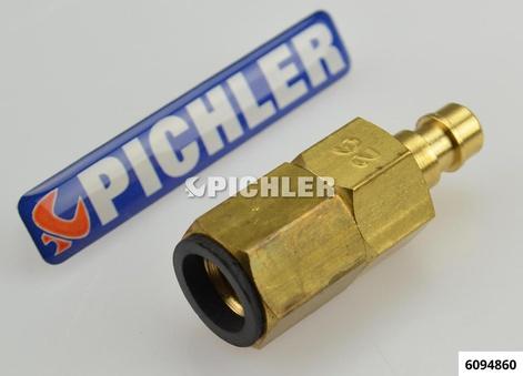 """Adapter K+L Jetronic 26 SK m.Ventil f. Ford,Chrysler, DB, 7/16""""-20UNF V6 (I)"""