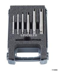 Gewindekronensetlift G 6-tlg. M4,M5,M6,M8 - 3 Stege /M10,M12 - 4 Steg4