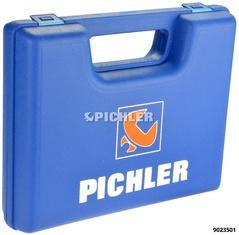 Koffer bedruckt PICHLER Schaumstoffeinlage oben/unten