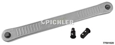 "Ratchet Extension 3/8"" with 2 adaptors 3/8"" or 1/4"""