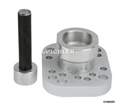 Hub Puller for Trucks and Busses (for 45 tons cylinder) for hubs without wheel stud circle of MAN, Volvo, Renault and other identical models