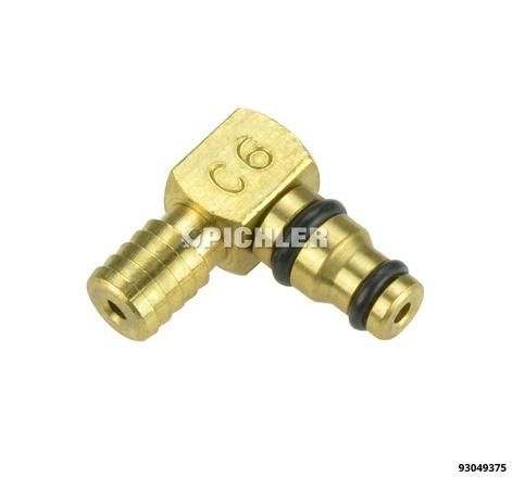 Adapter C6 Bosch Magnetventil für Rücklaufmengemessung