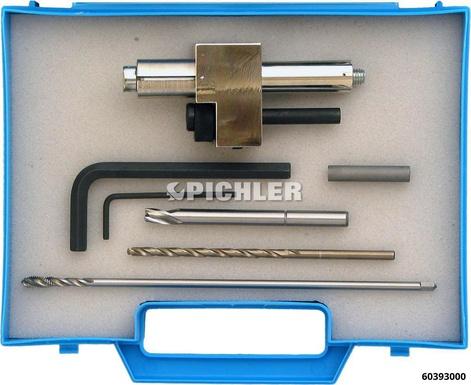 Injektor Halteschrauben Ausbohrsatz für M6x1 Piezo Halteschrauben