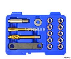 Jeu de réparation filets 12x1,5 pour axes de guidage étriers de frein