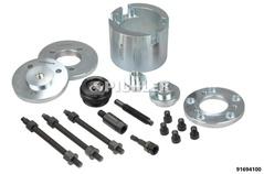 Outils de démontage moyeu - roulement de roue VAG, Pour le dé/montage des moyeux et des roulements de roue vissés sur tout les véhicules VAG