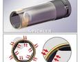Schlagstecknuss 1/2 lang Set 3-tlg. Kunststoffschutz innen/außen für Alufelgen 17, 19, 21mm