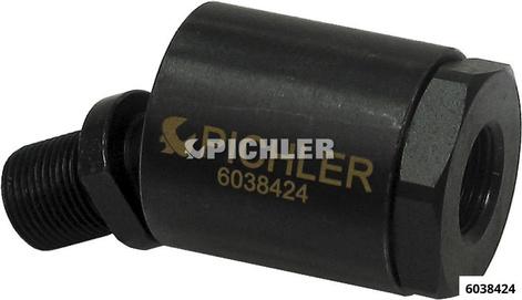 Kugelgelenk-Adapter universell IG M18x1,5 / AG M18x1,5 für z.B. 6148800 / 6038440