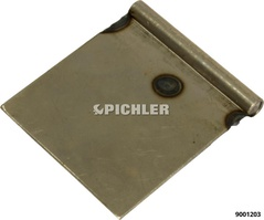 Weld-On Plates 75mm Wide Unit 25 pcs